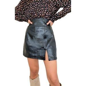 Free People NWT Holding Onto A Dream Mini Skirt